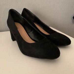 Just fab block heels